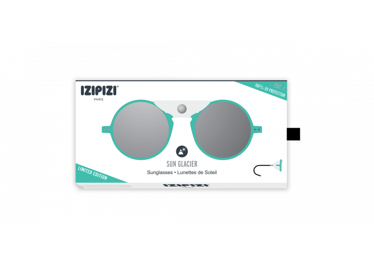 Izipizi SUN GLACIER Green Mint sunglasses mountain