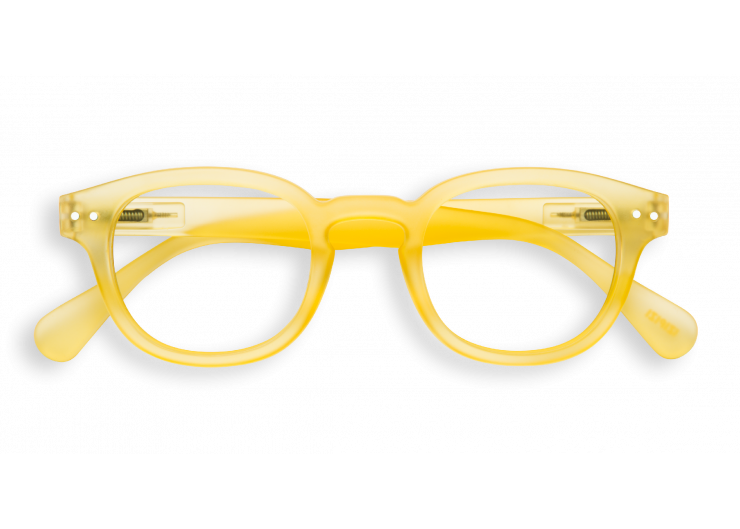 Izipizi C SCREEN Yellow Chrome lunettes repos ecran ordinateur