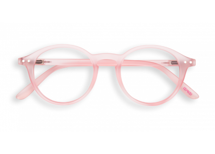 Izipizi D Pink Halo reading glasses