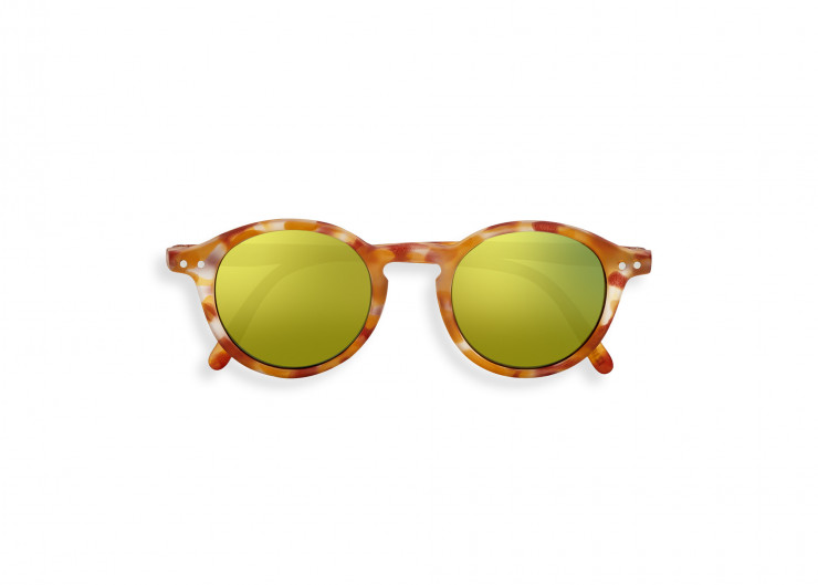 #D SUN JUNIOR Yellow Tortoise Mirror