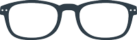READING :   Reading glasses (presbyopia) - Shape #B (rectangular, classic, chic) - +0 (without correction) to +3 diopters