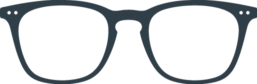 READING :  Reading glasses (presbyopia) - Shape #E ( trapezoid, large, contouring)  -  +0 (without correction) to +3 diopters