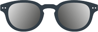 SUN:   Sunglasses -  Shape #C (square, with personality, stylish)  -  +0 (without correction) to +3 diopters (presbyopia) -  Protection 100% UV category 3