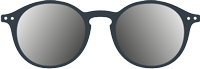 SUN:   Sunglasses -  Shape #D (round, timeless, best-seller)  -  +0 (without correction) to +3 diopters (presbyopia) -  Protection 100% UV category 3