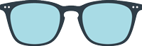 SCREEN :  Glasses for screens -  Shape #E (  trapezoid, large, contouring)  - Filter 40% of blue light -  +0 (without correction) to +3 diopters (presbyopia)
