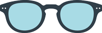 SCREEN READING : Reading glasses (presbyopia) for screens - Shape #C  (square, with personality, stylish)   -  Filter 40% of blue light  -  +0 (without correction) to +3 diopters