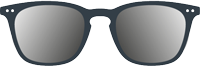 SUN READING : Reading sunglasses (presbyopia) -  Shape #E (  trapezoid, large, contouring)  -  +0 (without correction) to +3 diopters -  Protection 100% UV category 3