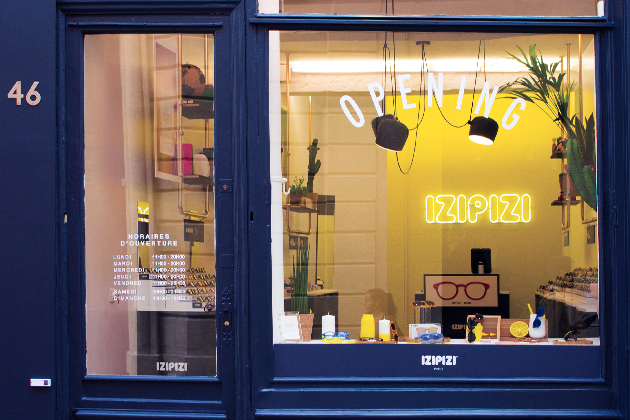 IZIPIZI opens its first store in Paris