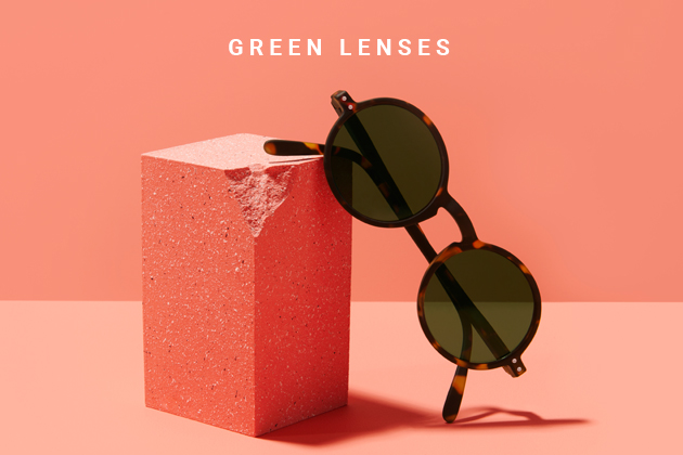 Green Lenses: it's a colorful life!